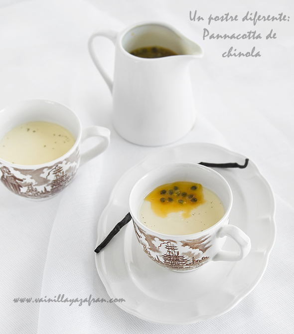 Pannacotta de chinola