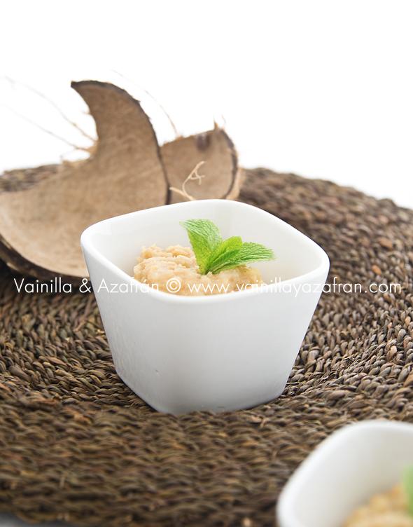 Dulce de coco y piña
